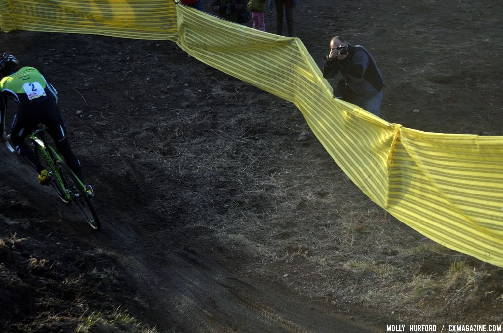 Dueling photogs over the course aimed for the better angles. © Cyclocross Magazine