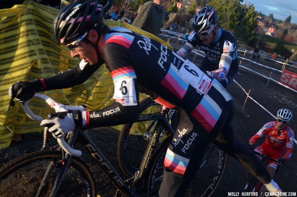 Chris Jones raced his way into the lead group. © Cyclocross Magazine