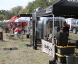 Companies that had tents set up at the venue included Stanley, SRAM, Specialized, Cannondale Cyclocrossworld, Kona, Focus, and a few more. © Amy Dykema