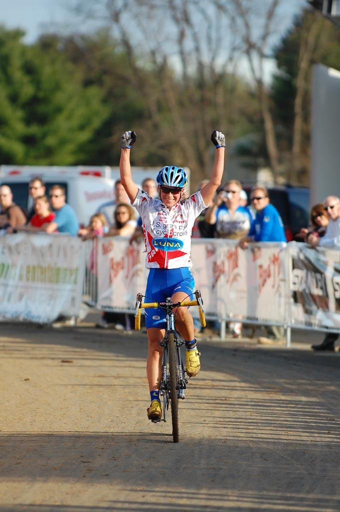 Katerina Nash takes the Mercer Cup win