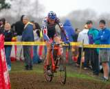 Trebon was at ease in the mud, as it wasn't much different than Oregon's conditions. ? Tom Olesnevich