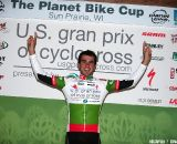 U23 Leader, Yannick Eckmann. 2011 USGP Planet Bike Cup Day 1. © VeloVivid Cycling Photography