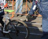 UCI officials had the tire calipers in action  © Josh Liberles