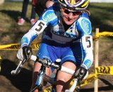Amy Dombroski rode a strong race to claim third © Janet Hill