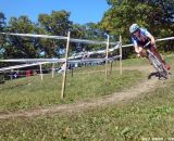 Compton soloes off the front. © Cyclocross Magazine