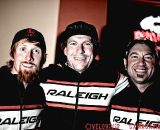 Team Raleigh's Craig Etheridge,  Jonny Sundt & Sean Burkey. © VeloVivid Photography