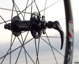 Disc-ready with Vision Tech's Metron 40 carbon tubular wheels. © Cyclocross Magazine