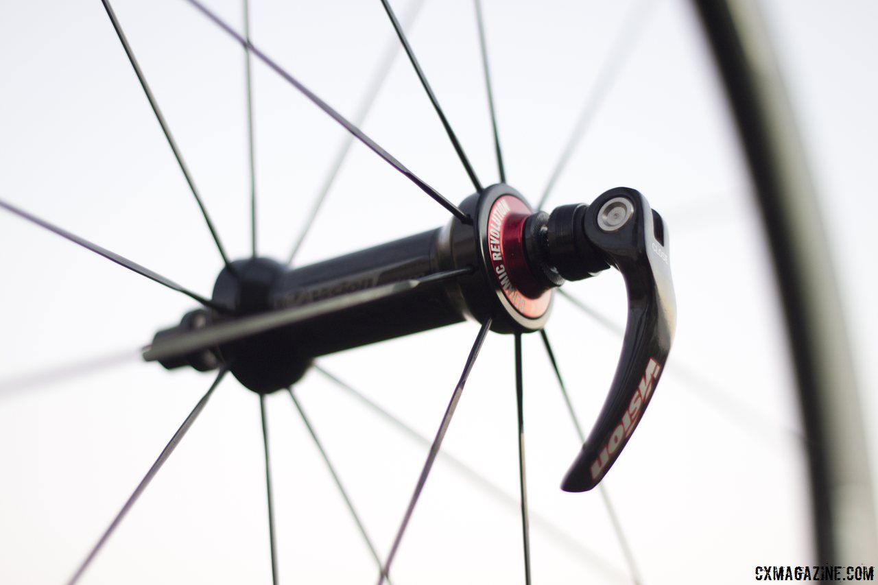 Vision Tech\'s Metron 40 PSA bearing assembly. © Cyclocross Magazine