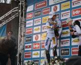 Albert repays Stybar for soaking him moments earlier. ? Dan Seaton