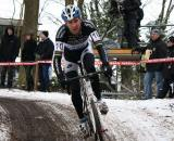 Erwin Vervecken was popular with the crowd but didn't finish. ? Dan Seaton