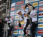 Simunek congratulates his countryman Stybar. ? Dan Seaton