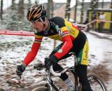 Sven Nys had some pointed comments for the BKCP Powerplus riders after a mid-race fall. ? Dan Seaton