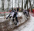 Teammates Niels Albert and Dieter Vanthourenhout. ? Dan Seaton