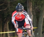 16 Year Old Jeff Bahnson stepped up to challenge the elite men. ? dennisbike.com