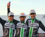 Men's Elite podium. ? Tom Olesnevich