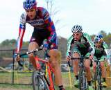 Trebon was harassed by the Cannondale boys all afternoon. ? Tom Olesnevich