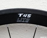The T45 bridges the gap between last year's T50 and T38, but has a wider rim (22mm) for cyclocross. © Cyclocross Magazine