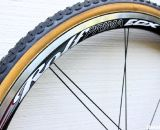 Rolf's ECX alloy tubular wheelset, dressed with Challeng Grifo tires. © Cyclocross Magazine
