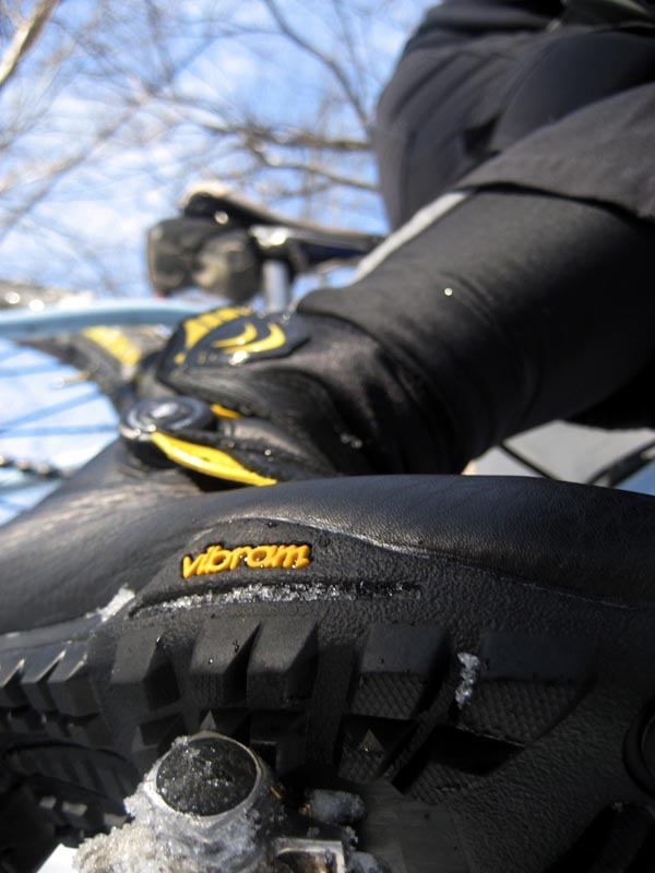 Lake's Vibram traction ? Josh Patterson