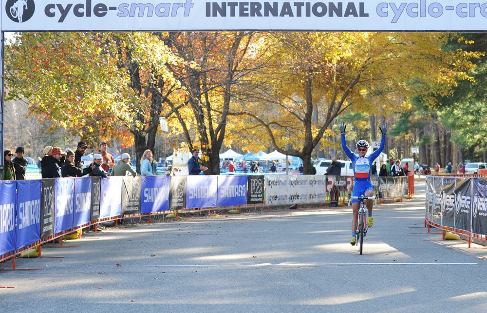 Nash's emphatic victory © Natalia Boltukhova | Pedal Power Photography | 2011