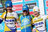 The women's podium © Bart Hazen