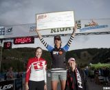 The winners. Women's 2012 Raleigh Midsummer Night Cyclocross Race. @Cyclocross Magazine