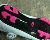 Easton® EC70™ carbon composite lug outsole on the Women's Giro Sica MTB Shoe. © Cyclocross Magazine