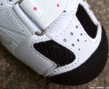 Breathable toe casing on the Women's Giro Sica MTB Shoe. © Cyclocross Magazine