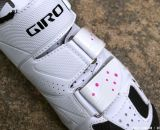 White shoes may be hard to clean but they look great: the Women's Giro Sica MTB Shoe. © Cyclocross Magazine