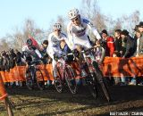 Pauwels leads break turning into a descent ©Bart Hazen