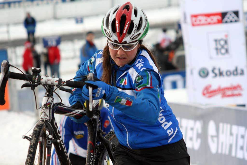 Italian national champ Eva Lechner ? Bart Hazen