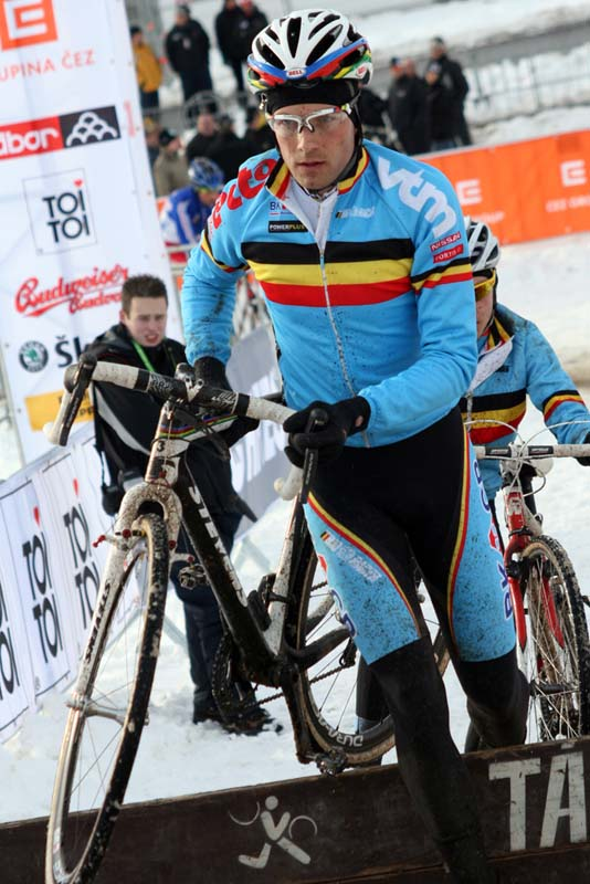 Reigning world champ Niels Albert ? Bart Hazen