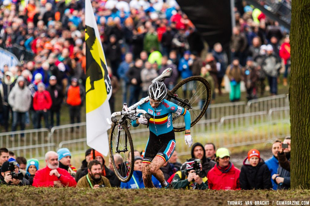 Sanne Cant at 2014 World Championships. © Thomas Van Bracht