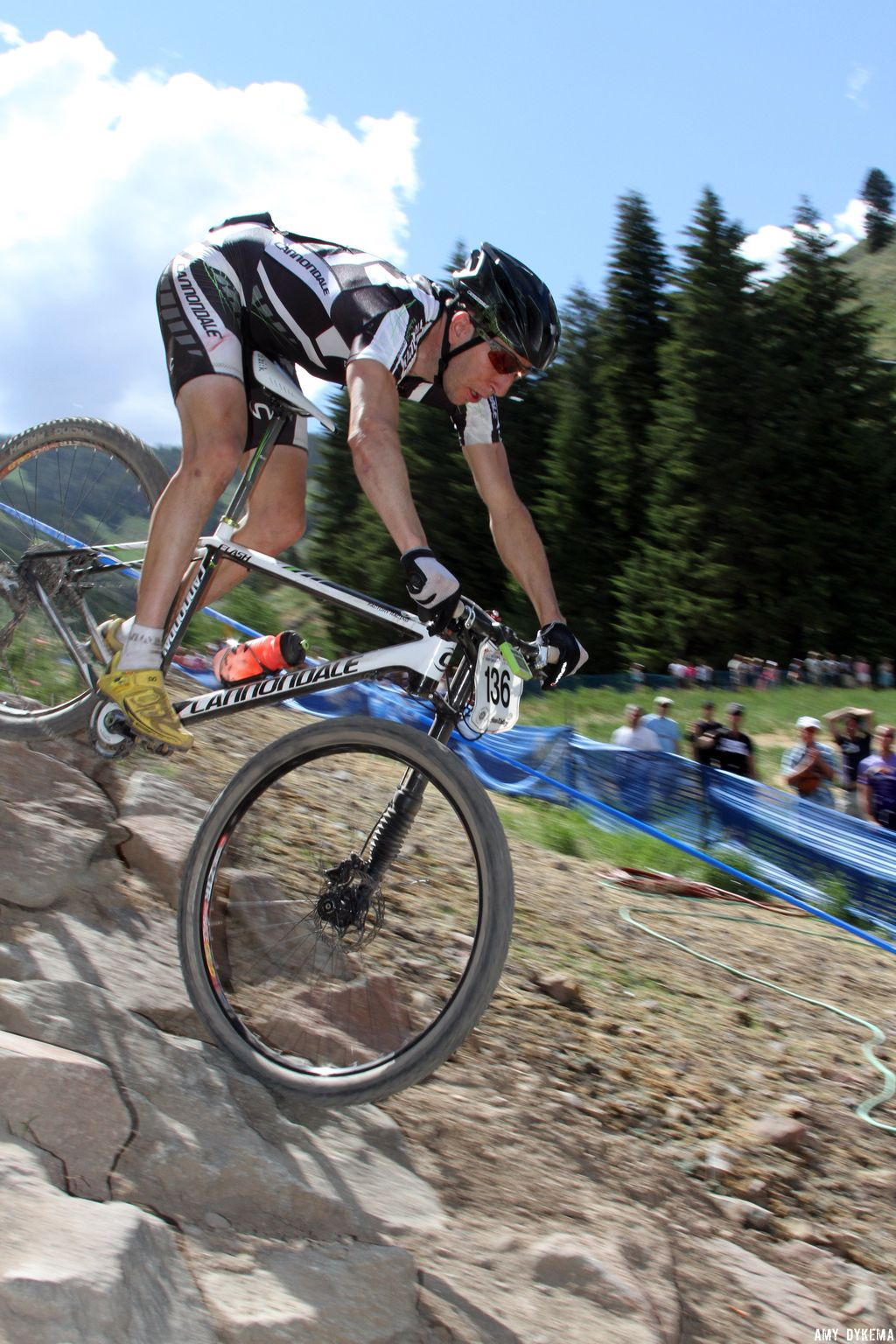 Jeremiah Bishop (Cannondale) had a great ride in 4th place. ©Amy Dykema