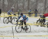 Racers took on wintery conditions © Steve Vorderman