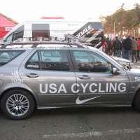 The USA Cycling cars paid for by USA riders.