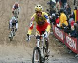 Klaas Vantornout finished fourth in Zonhoven. ? Bart Hazen