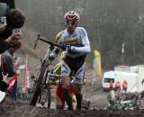 Stybar crests the runup in Zonhoven. ? Bart Hazen
