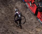 Jonathan Page was thankful for no bad luck in Zonhoven. ? Bart Hazen