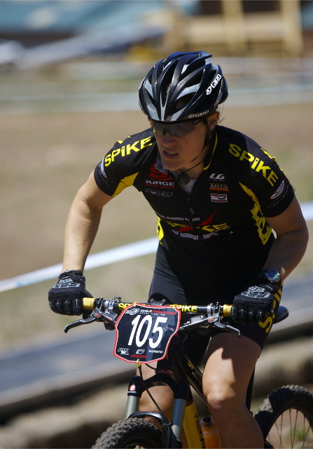 Katie Compton Winning Mountain Bike Races to get Ready for Cyclocross