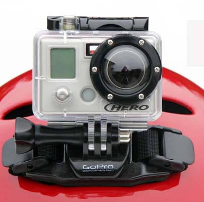 GoPro Hero Wide Helmet Camera. photo: courtesy