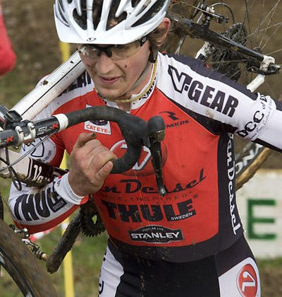 Adam McGrath is one of the rising young stars of American Cyclocross. Dennis Smith