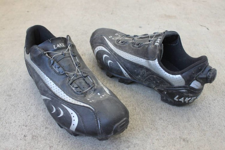 The Lake MX170 mountain biking / cyclocross shoe with Boa closure and adjustment © Cyclocross Magazine