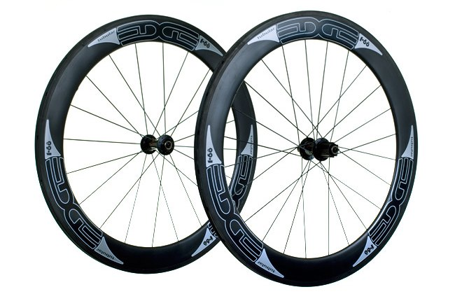 Edge Composites 65's Carbon Tubular Wheelset