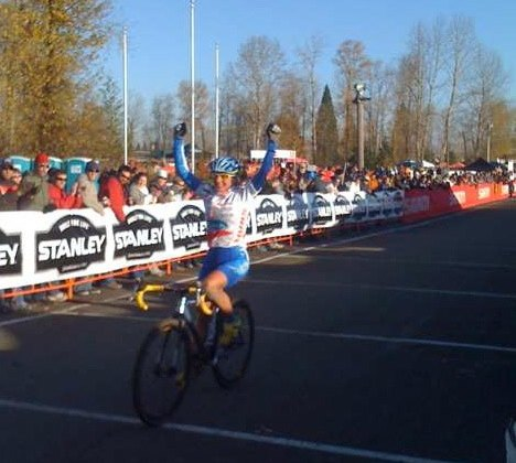 Katerina Nash continues her domination of the 2009 USGP of Cyclocross