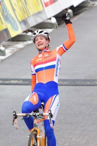 Marianne Vos repeats as Cyclocross World Champion in Tabor. © Joe Sales