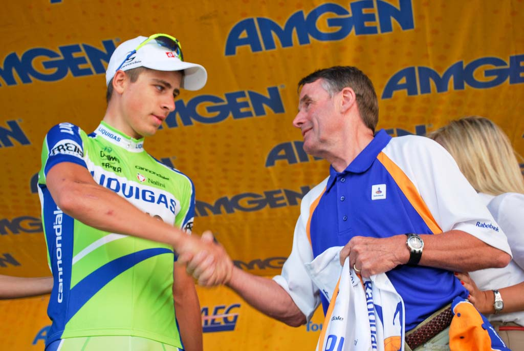 Peter Sagan claims the white jersey - in CX GC and overall! Via flickr by smithcriminal29