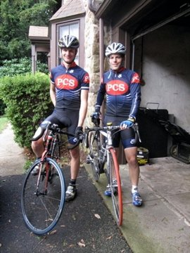 Valentin Schertz and David Berson, Philadelphia Cyclocross School