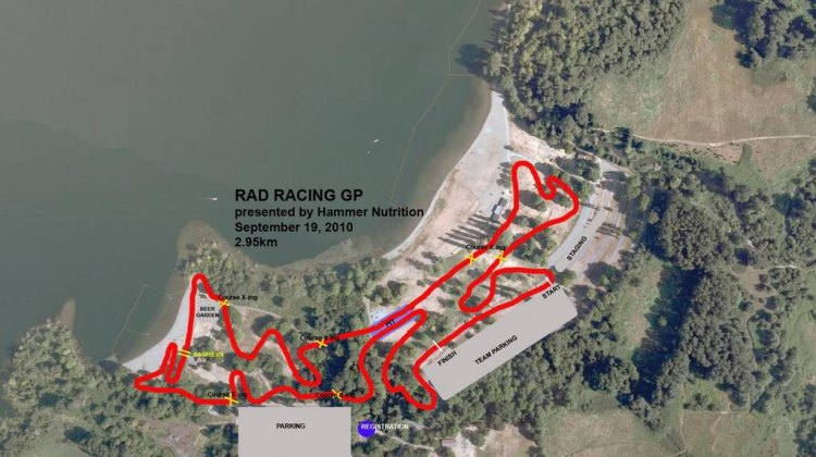 Rad Racing GP Course