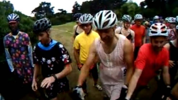 The DFL Cylcocross Series knows that for men to be men, they need to, umm, be women.